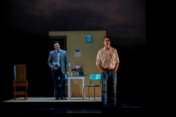 New York City Opera production of Brokeback Mountain  Music Charles Wuorinen U.S. Premiere   Daniel Okulitch Ennis del Mar Glenn Seven Allen Jack Twist Heather Buck Alma Beers Hilary Ginther Lureen  Conductor Kazem Abdullah Director Jacopo Spirei Scenery
