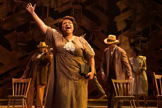 BWW Review: THE COLOR PURPLE Sounds the Clarion Call to Arms