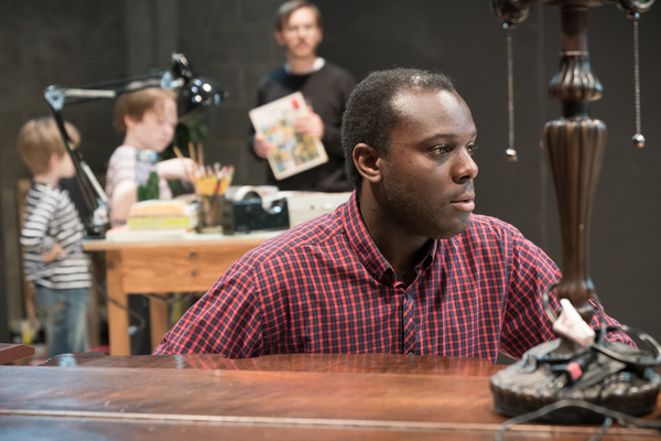 Photo Flash: In Rehearsal with the Young Vic's FUN HOME