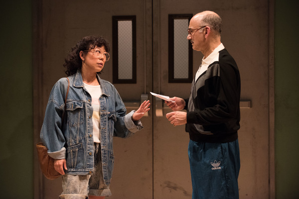 Ali Ahn and Ned Eisenberg. Photo Credit: Ahron R. Foster