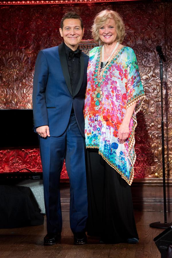 Michael Feinstein, Christine Ebersole
