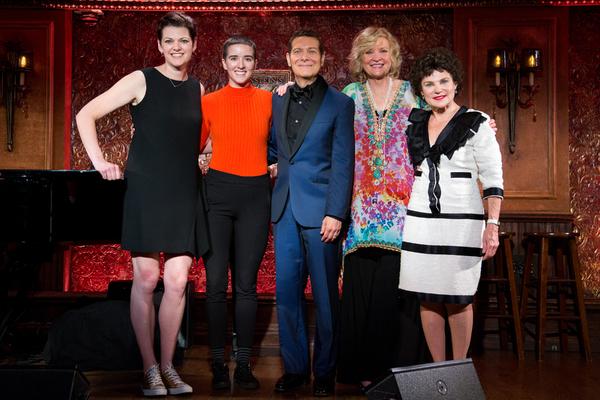Kate Shindle, Abby Corrigan, Michael Feinstein, Christine Ebersole, Tovah Feldshuh