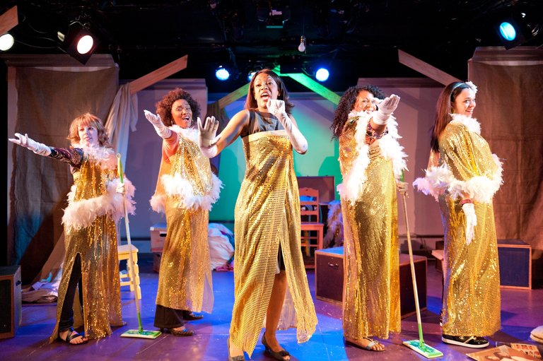The Ensemble Theatre Sets Up For SISTAS THE MUSICAL