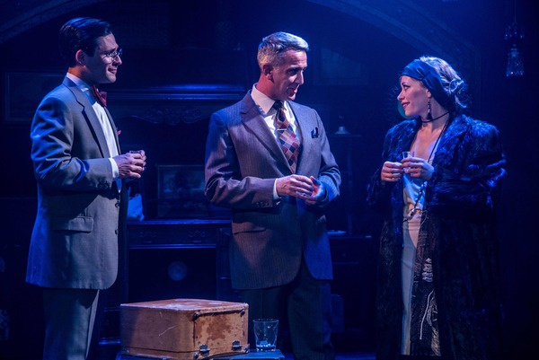 "Christopher Maikish, John Colella and Talisa Friedman star in the Celebration production of ""CABARET,"" directed by Michael Matthews and now playing at Celebration at the Lex Theatre."