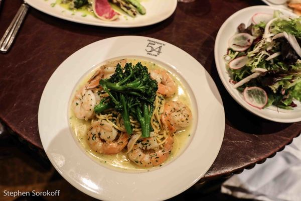 Executive Chef Lynn Bound, Scampi from Tony Danza's Cookbook