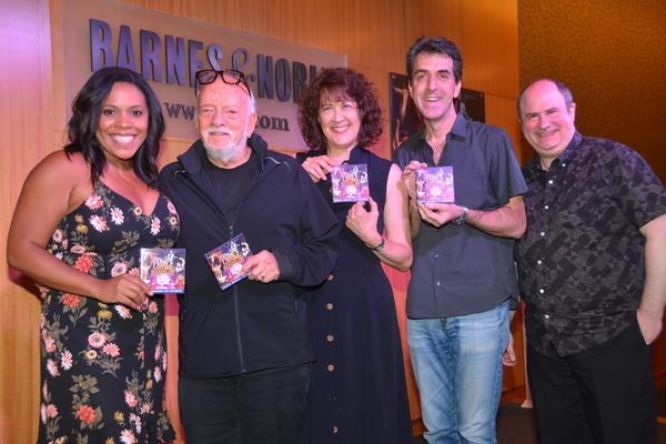 Bryonha Marie Parham, Hal Prince, Karen Ziemba, Jason Robert Brown and James Sampliner