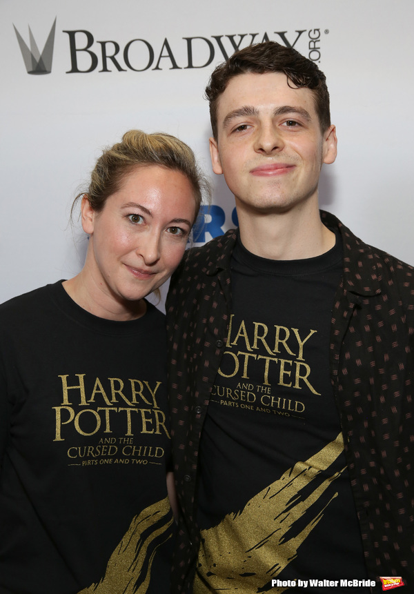 Jessie Fisher and Anthony Boyle Photo