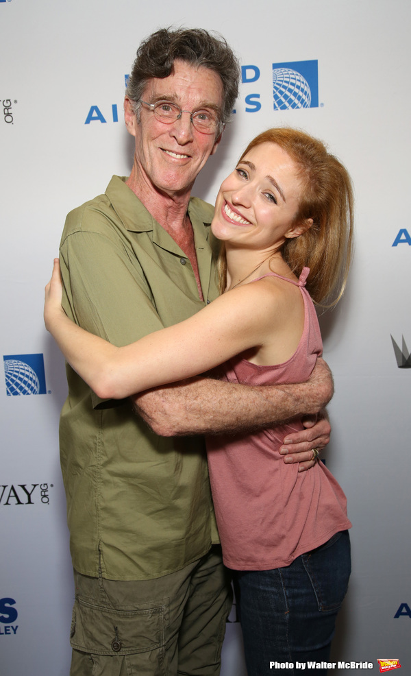 John Glover and Christy Altomare
