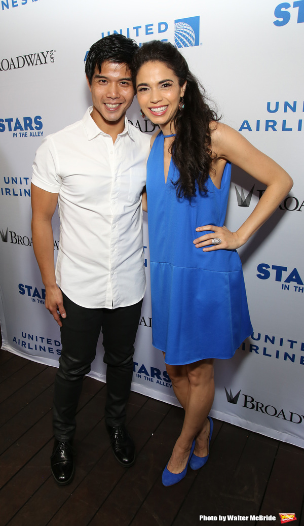 Photo Coverage: Backstage at the Star-Studded STARS IN THE ALLEY Concert