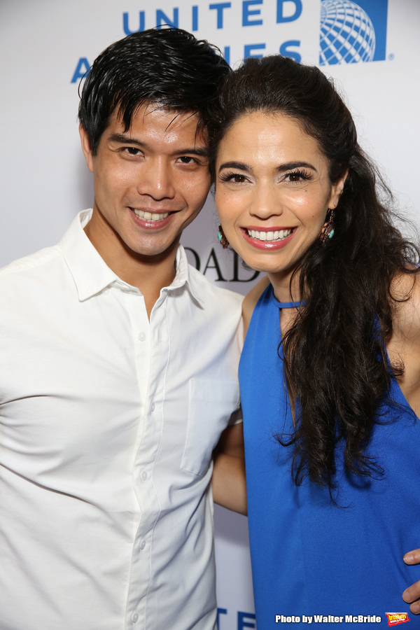 Telly Leung and Arielle Jacobs