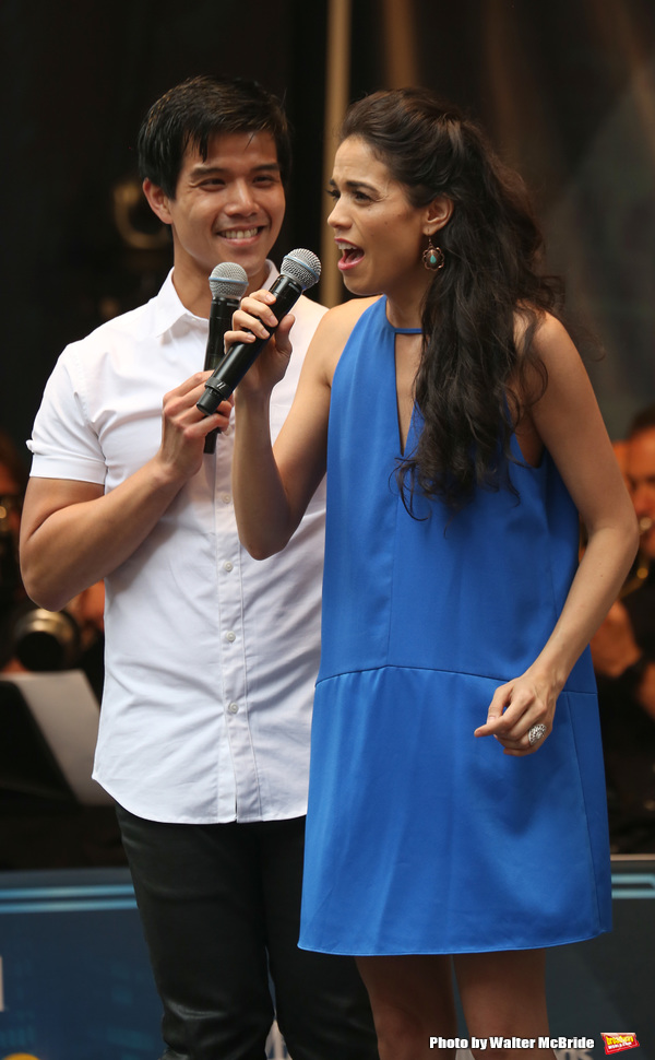 Photo Coverage: Check Out Photos From STARS IN THE ALLEY, Including Performances by DEAR EVAN HANSEN, SPONGEBOB, and More
