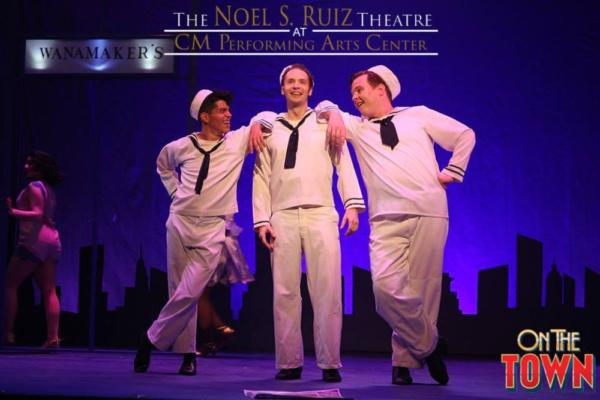 Matthew Paredi (Chip), Bobby Peterson (Gabey), and Kevin Burns (Ozzy)  Photo Credit: Lisa Schindlar