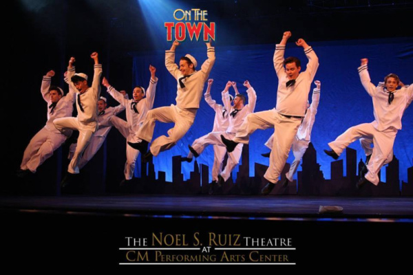 Photo Flash: First Look at ON THE TOWN At The Noel S. Ruiz Theatre