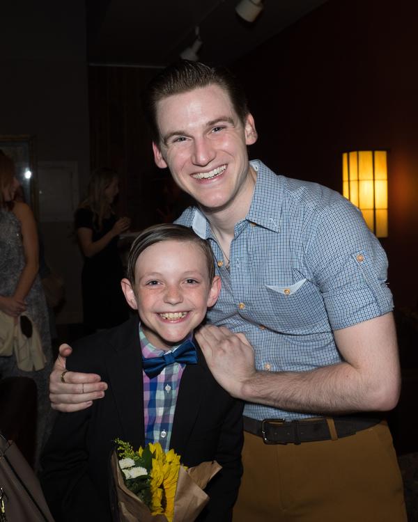 Travis Burnett and Michael James Photo