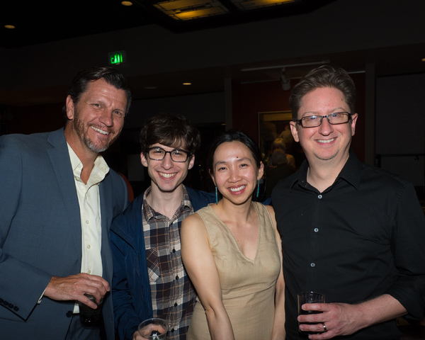 David Atkinson, Cooper Babbes, Haezeline Go, and Music Director Brent Crayon