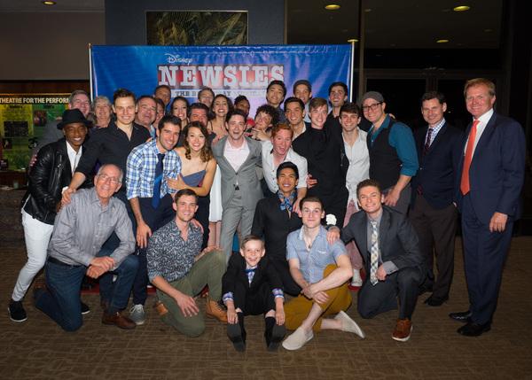 Photo Coverage: Curtain Call And Press Night Celebration of McCoy-Rigby's DISNEY NEWSIES At La Mirada Theatre