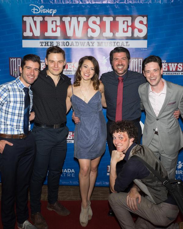 Anthony Raimondi, Alex Prakken, Beth Stafford Laird, Josey Montana McCoy, and Austyn Myers with Director Richard J. Hinds