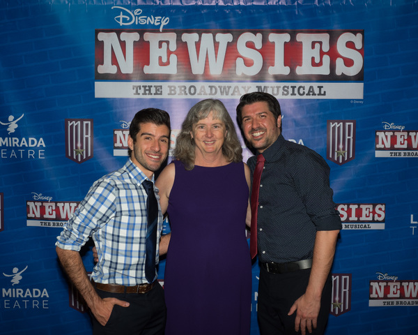 Associate Director/Choreographer Anthony Raimondi and Production Stage Manager Jill Gold with Director Richard J. Hinds