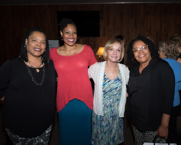 Daebreon Poiema and family with Cathy Rigby