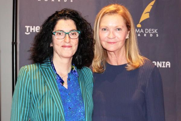 Tina Landau and Joan Allen Photo