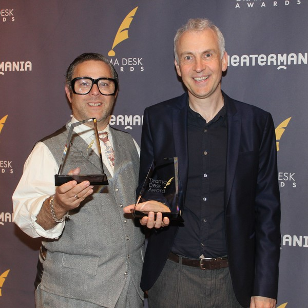 Andy Nyman and Andrew O'Connor