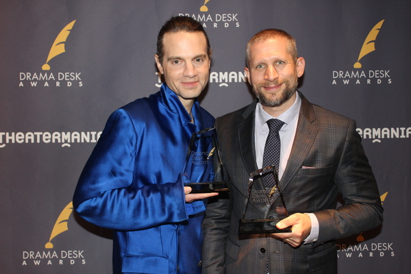 Jordan Roth and Tim Levy Photo