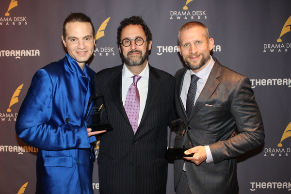 JJordan Roth, Tony Kushner and Tim Levy Photo