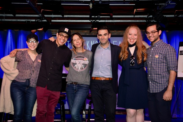 Lauren Marcus, George Salazar, Ilana Levine (Little Known Facts Host), Joe Iconis and Jennifer Ashley Tepper are joined by John Zeltoun