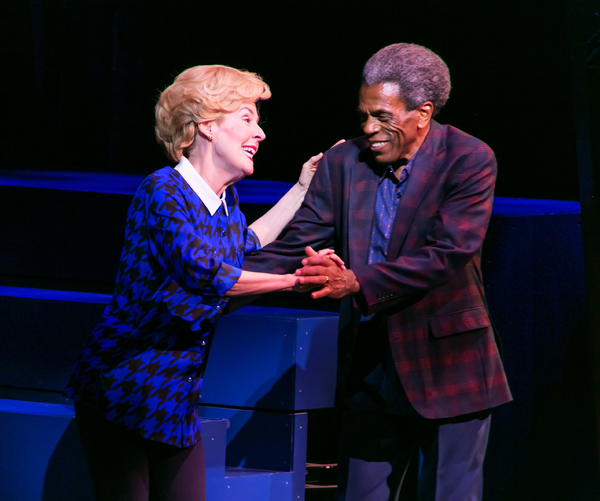 Georgia Engel (Dorothy/Dottie) and Andre� De Shields (Ron); Photo by Jerry Dalia
