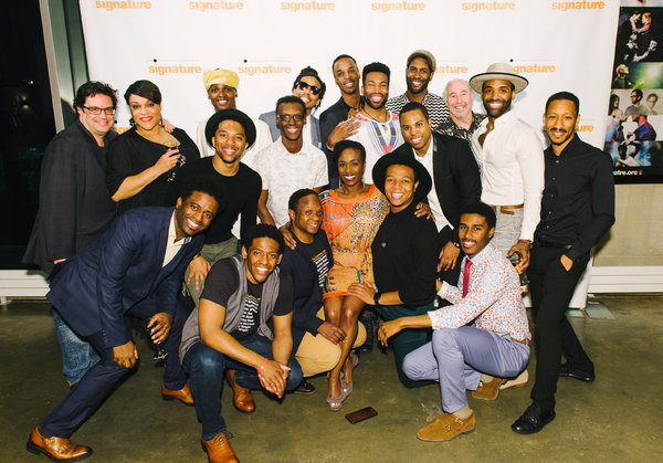 Director Joe Calarco, Iyona Blake, Malik Akil, Aramie Payton, Joshua James Crawford, Joseph Monroe, Andre Hinds, Jonathan Adriel, Darrel Purcel Jr., DeWitt Fleming Jr., Christopher Bloch, Stephen Scott Wormley, Musical Director Brian Whitted, C.K. Edwards