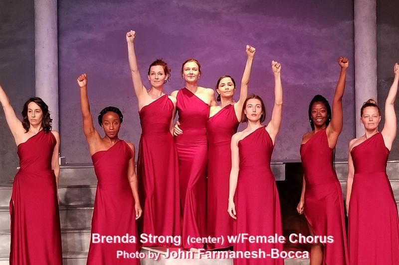 BWW Interview: Brenda Strong's Latest Role - A Woke Lysistrata