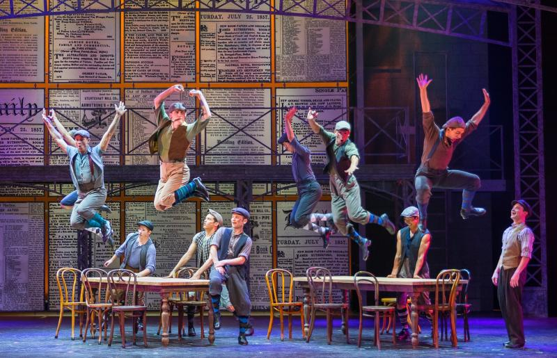 BWW Review: Lively New Production of NEWSIES Carries the Banner in La Mirada