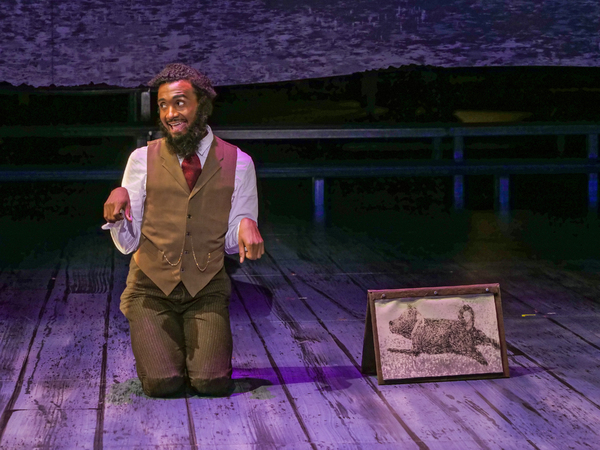 Photo Flash: First Look at SUNDAY IN THE PARK WITH GEORGE at ZACH Theatre