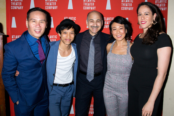 Photo Coverage: Atlantic Theater Company Celebrates Opening Night of THE GREAT LEAP