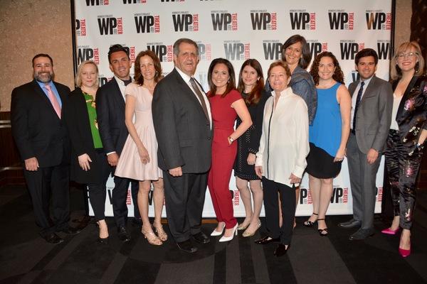 WP Theatre's Board of Directors-Michael Sag, Lisa Timmel, Aaron Pierce, Margie Weingarten, Stephen M. Rosenberg, Jenna Segal, Laura Beinner, Nancy Schmidt, Sandy Ashendorf, Jessica R Jensen, David Manella and Lisa McNulty