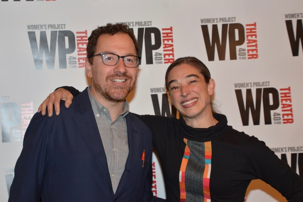 Robert Saenz De Viteri and Monica Bill Barnes Photo