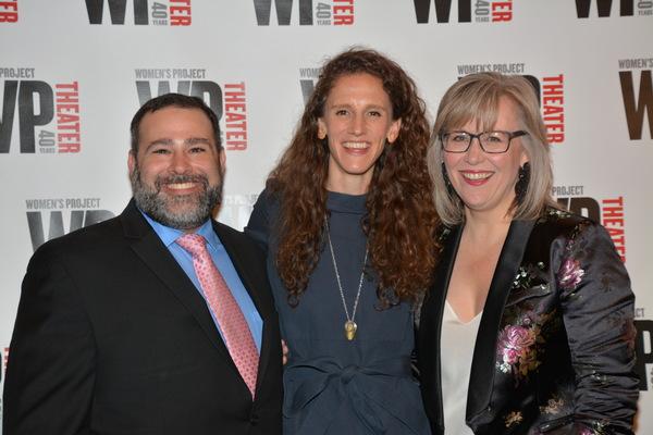 Michael Sag, Zoe Sarnak and Lisa McNulty Photo