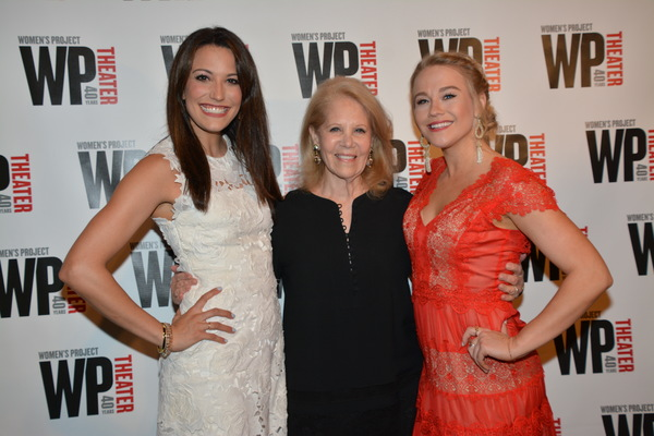 Caroline Bowman, Daryl Roth and Carrie St. Louis