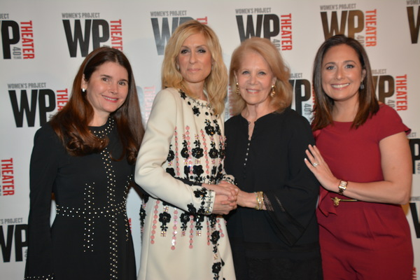 Laura Beinner, Judith Light, Daryl Roth and Jenna Segal