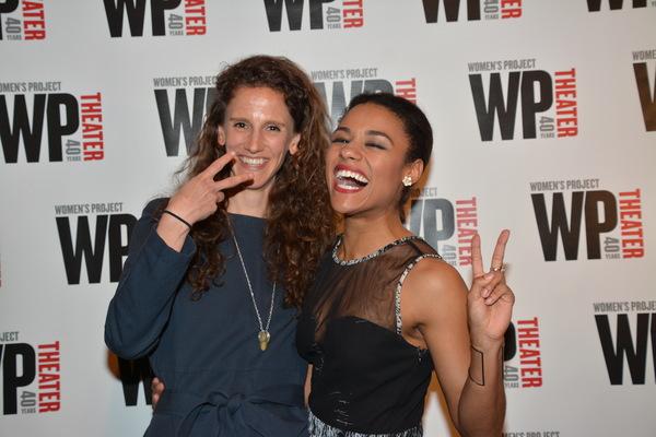 Zoe Sarnak and Ariana DeBose Photo