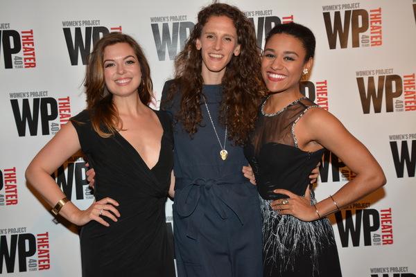 Margot Seibert, Zoe Sarnak and Ariana DeBose Photo