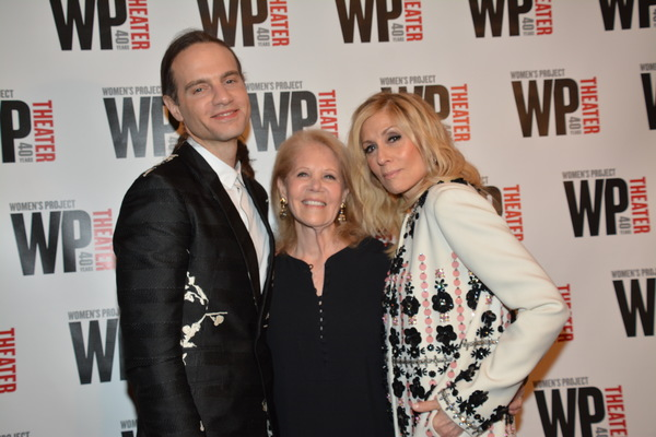 Jordan Roth, Daryl Roth and Judith Light
