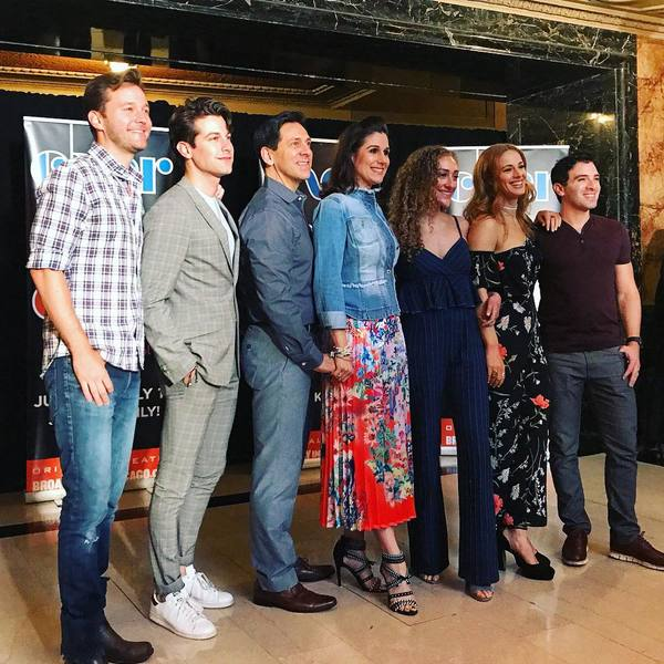 Photo Flash: The Cast Of THE CHER SHOW Meets The Press in Chicago