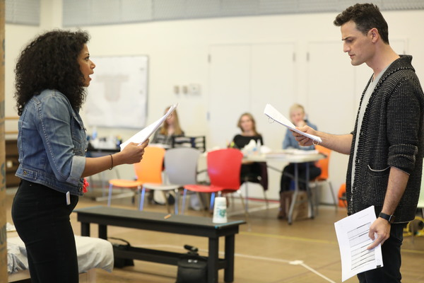 Photo Flash: In Rehearsal with The Public's FIRE IN DREAMLAND