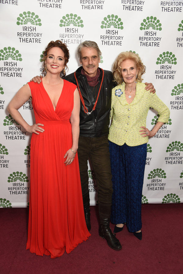 Melissa Errico, Jeremy Irons, and Honoree Tina Santi Flaherty Photo