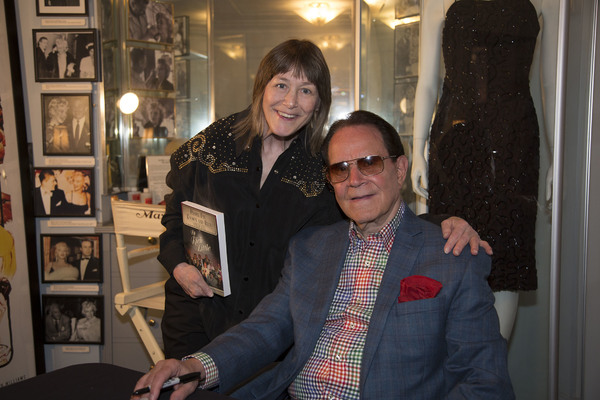 Comedienne and Deadwood star, Geri Jewel, and Rich Little Photo