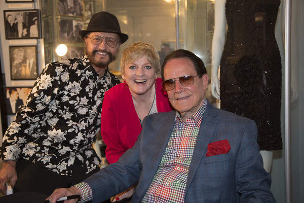 Bob Schoonover, comedienne and Little House star Alison Arngrim with Rich Little