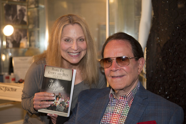 Recording artist, Roslyn Kind, and Rich Little