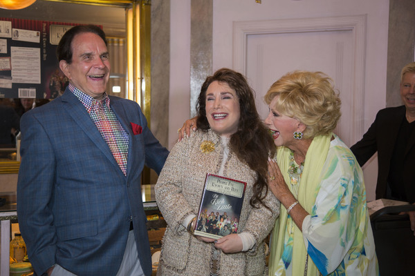 Rich Little, Donelle Dadigan and Ruta Lee share a laugh