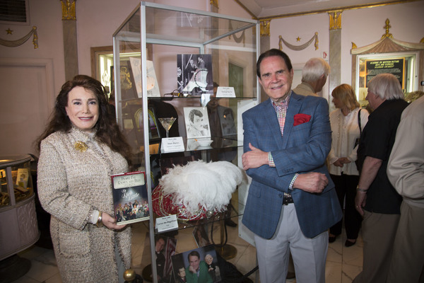 The Hollywood Museum's President and Founder, Donelle Dadigan, and Rich Little